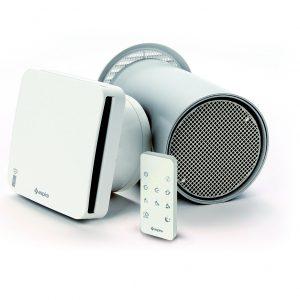 Rekuperators, ventilācijas iekārta ASPIRVELO AIR EcoComfort RF 100