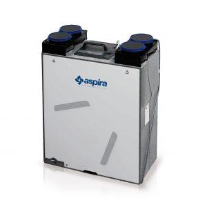 Rekuperators, ventilācijas iekārta ASPIRLIGHT BP